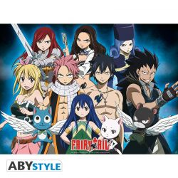 "Poster FAIRY TAIL "" groupe "" (52x38)"