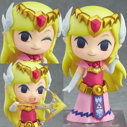 Figurine ZELDA - Nendoroid The Legend of Zelda: The Wind Waker HD ver!