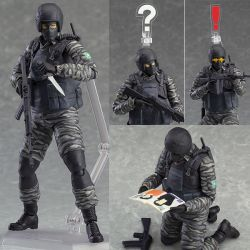 Figurine FIGMA - Gurlukovich Solider (METAL GEAR SOLID 2: SONS OF LIBERTY) !