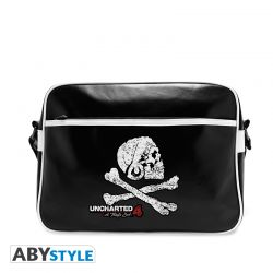 Sac Besace UNCHARTED- Skull - Vinyle