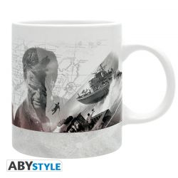 Mug UNCHARTED - 320 ml - White Map