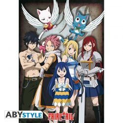 "Poster FAIRY TAIL ""Groupe"" (98x68)"