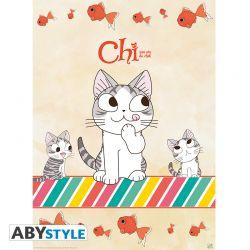 """Poster CHI """"Fish & Chi"""" (52x38)"""