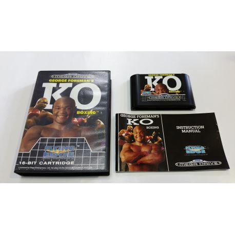 George Foreman's KO Boxing [mega drive]