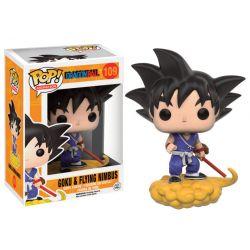 Figurine Dragonball Z POP! Animation Vinyl Goku et le nuage magique 9 cm