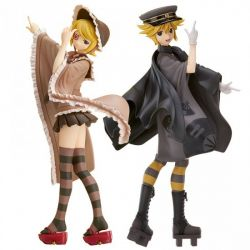 Senbonzakura feat. Hatsune Miku pack statuettes PVC Kagamine Len & Rin Senbonzakura 19 cm