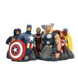 Avengers Assemble statuette Premium Motion Avengers (Alex Ross) 25 x 45 cm