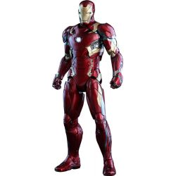 Captain America Civil War figurine Movie Masterpiece Diecast 1/6 Iron Man Mark XLVI 32 cm