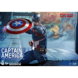 Captain America Civil War figurine Movie Masterpiece 1/6 Captain America 31 cm