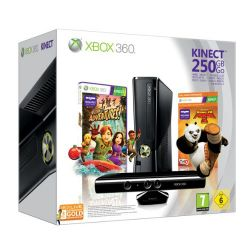 Console xbox 360 pack kinect 250 go