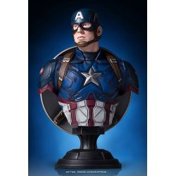 Buste Captain America Civil War 1/6 Captain America 18 cm
