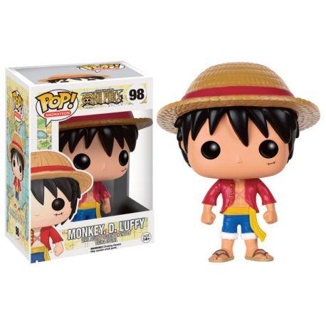 Figurine One Piece POP! Television Vinyl Monkey D. Luffy 9 cm