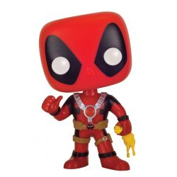 Figurine Deadpool POP! Marvel Vinyl Deadpool Rubber Chicken 9 cm