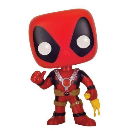 Figurine Deadpool POP! Marvel Vinyl Deadpool Rubber Chicken 9 cm