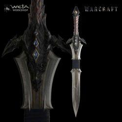 Warcraft réplique 1/1 épée de Lothar 117 cm