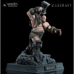 Warcraft statuette 1/10 Orgrim 33 cm