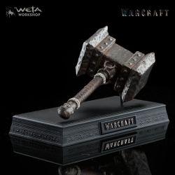 Warcraft réplique 1/6 Orgrim's Doomhammer 20 cm