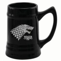 Le Trône de fer chope céramique Black Stark