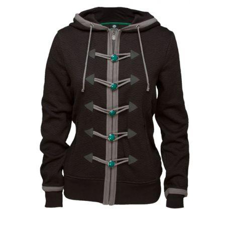 Sweater à capuche Fille Premium Monk World Of Warcraft