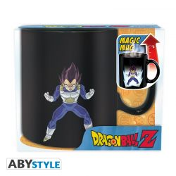DRAGON BALL - Mug Heat Change - 460 ml - DBZ/ Vegeta - avec boîte