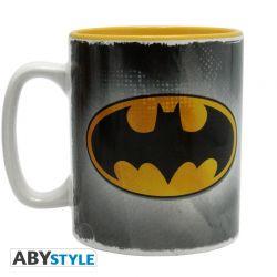 DC COMICS - Mug - 460 ml - Batman & logo - avec boîte