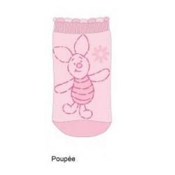 chaussettes winnie l'ourson : porcinet poupée (15/18 et 19/22)