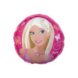 coussin rond barbie 35 cm