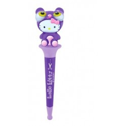 stylo bille déguisement hello kitty violet