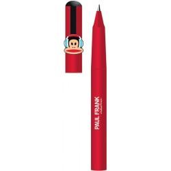 stylo bille paul frank rouge avec casque