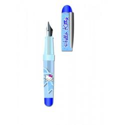 mini plume hello kitty ball bleu