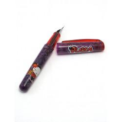 mini plume pucca yacusa mauve