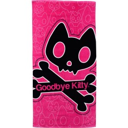 drap de plage goodbye kitty