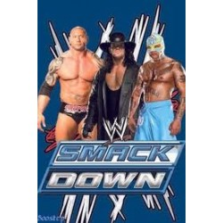 drap de plage wwe catch: smack down