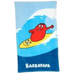 drap de bains barbapapa surf