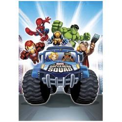 drap de plage marvel superhero squad