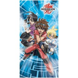 bakugan battle brawlers serviette de bain