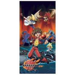 bakugan battle brawlers serviette de bain group