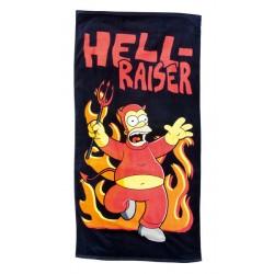 preco - drap de plage simpsons hell-raiser